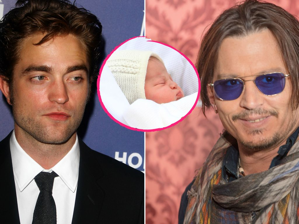 Johnny Depp, Prinzessin Charlotte und Robert Pattinson