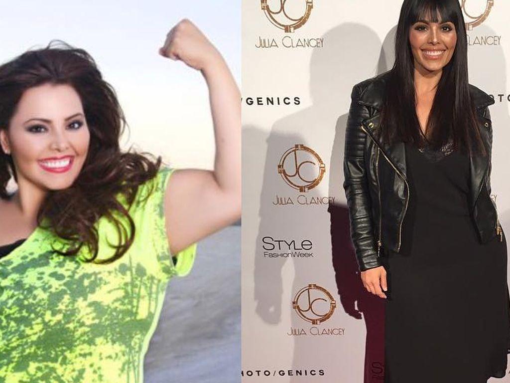 Curvy Model Rosie Mercado vor und nach dem Gewichtsverlust