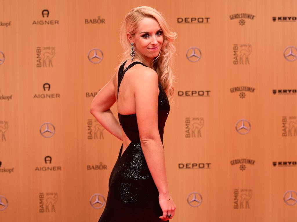 Sabine Lisicki bei der Bambi-Verleihung 2015