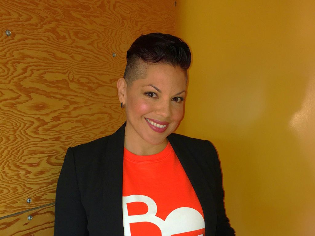 Sara Ramirez beim 40 to None Summit