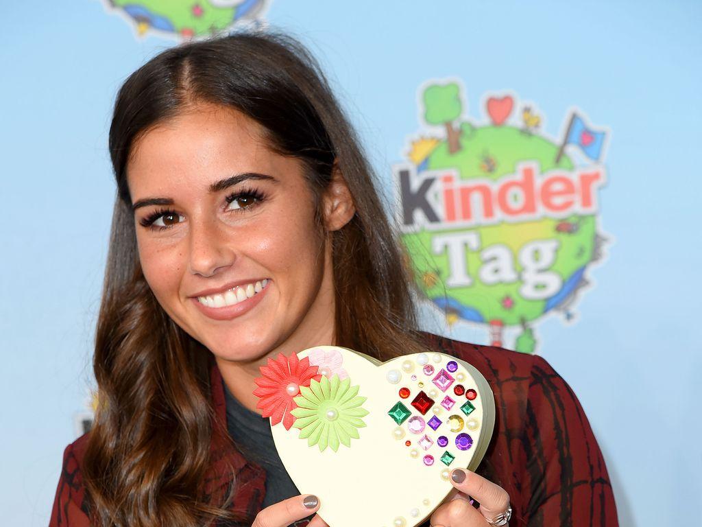 "Sarah Lombardi beim ""kinderTag"" in Norvenich"