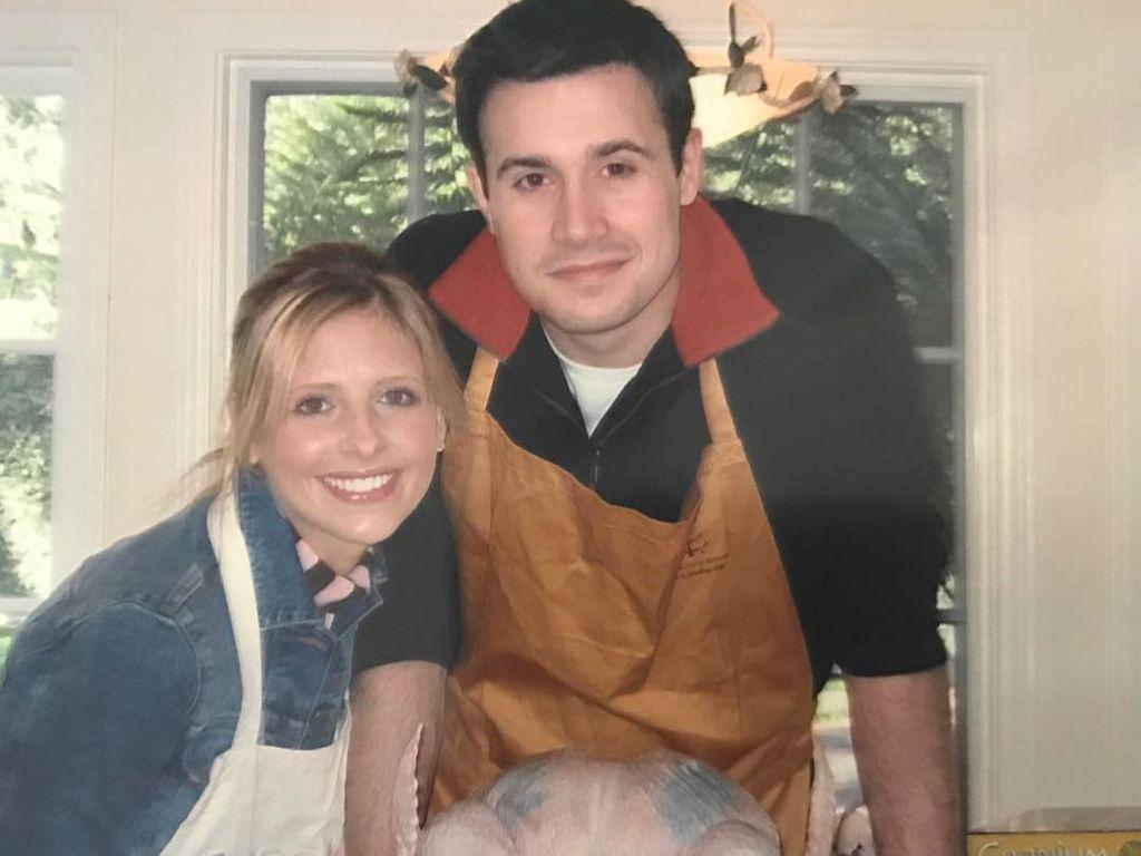 Sarah Michelle Gellar und Freddie Prinze Junior bei ihrem ersten Thanksgiving