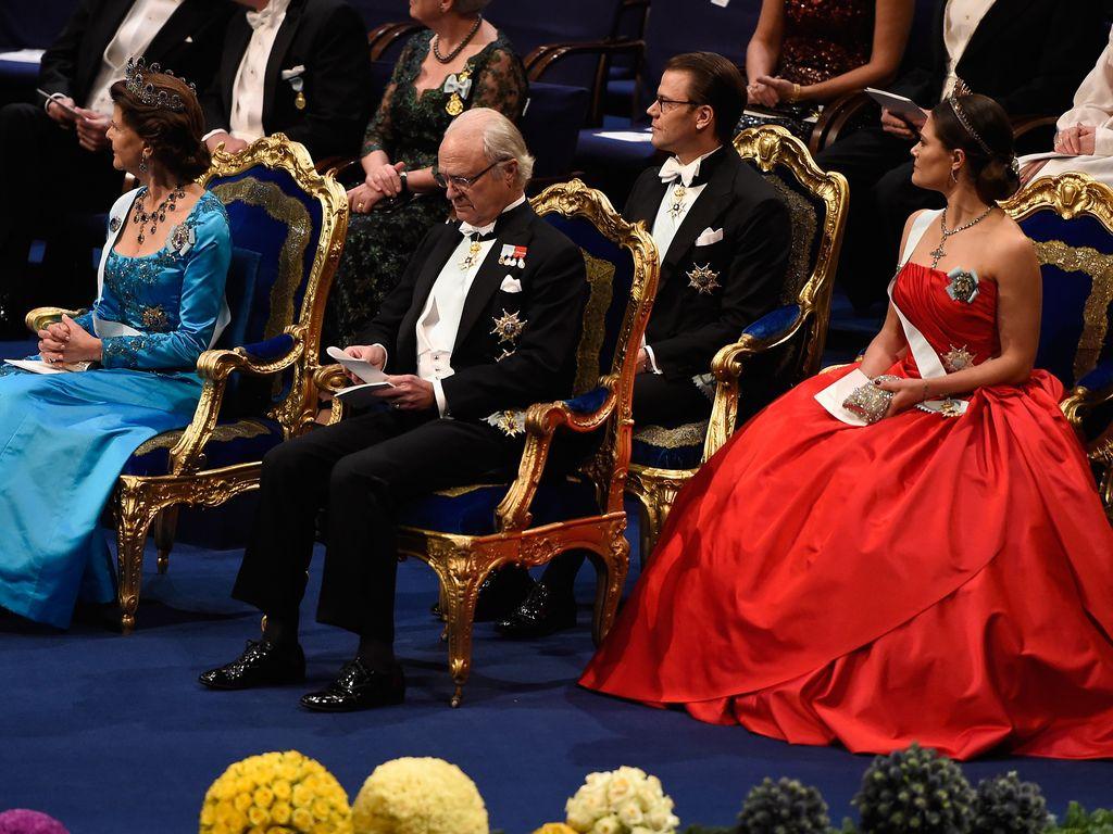 Prinzessin Victoria von Schweden, Königin Silvia von Schweden und Carl Gustaf