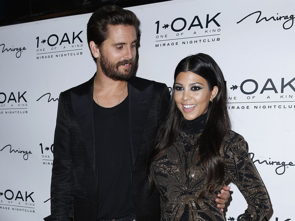 Scott Disick und Kourtney Kardashian