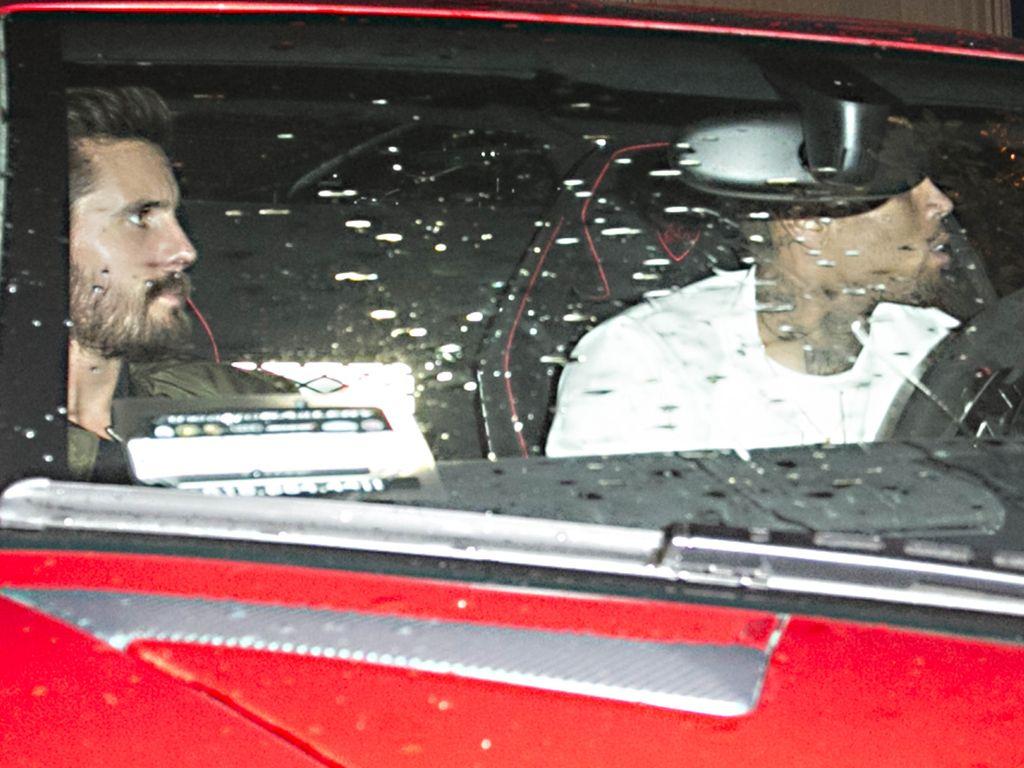 Chris Brown und Scott Disick
