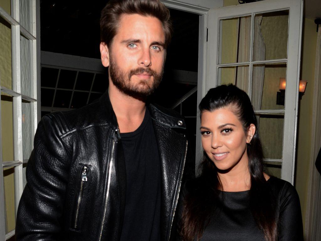 Scott Disick und Kourtney Kardashian 2015 in LA