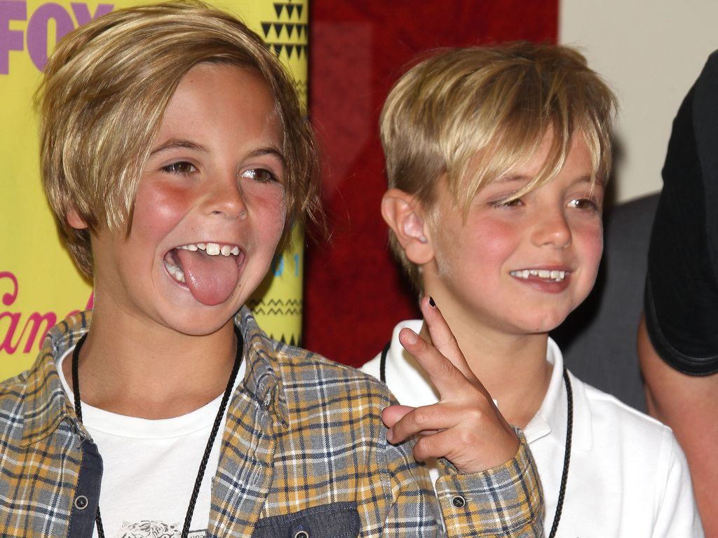 Sean Preston und Jayden James Federline bei den Kids Choice Awards
