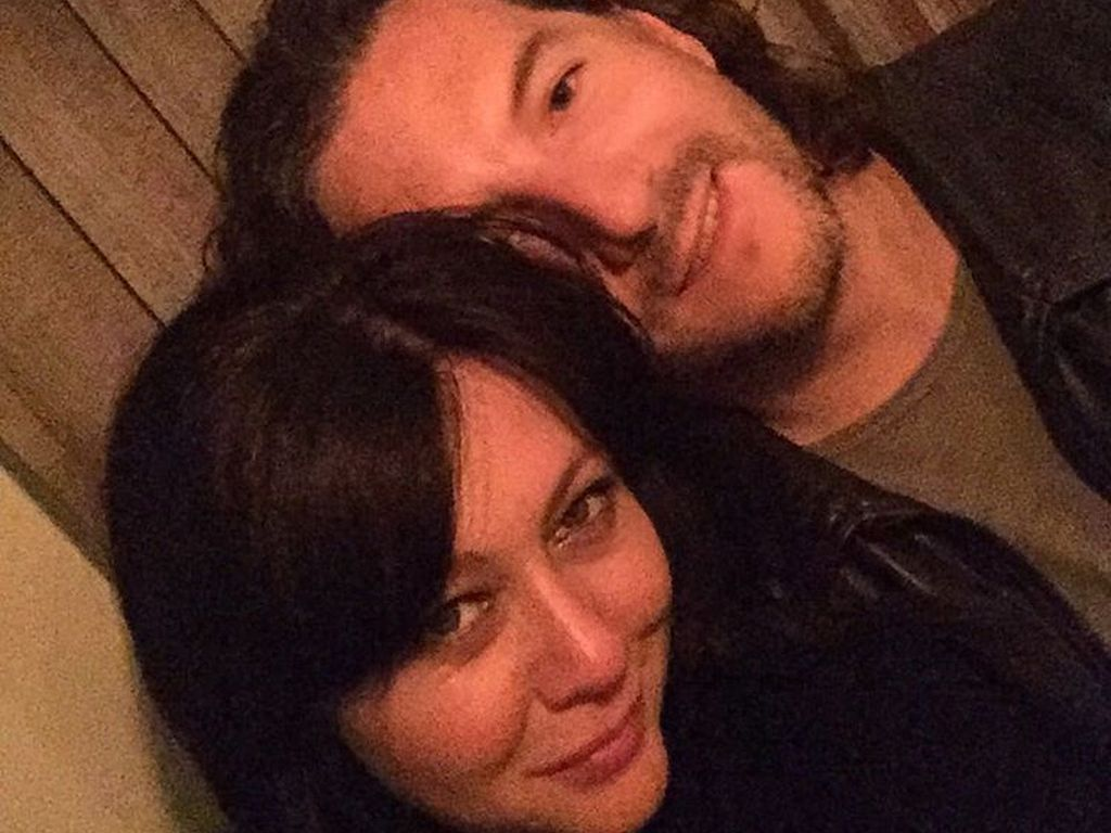 Shannen Doherty und Ehemann Kurt Iswarienko