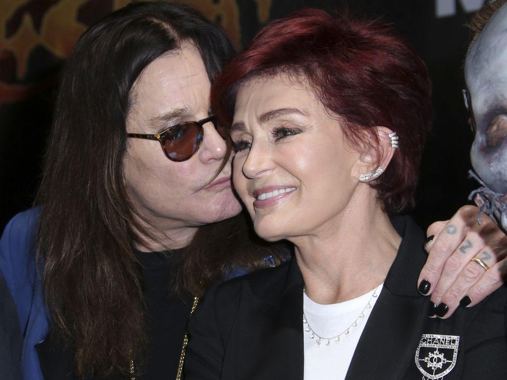 Ozzy Osbourne und Sharon Osbourne