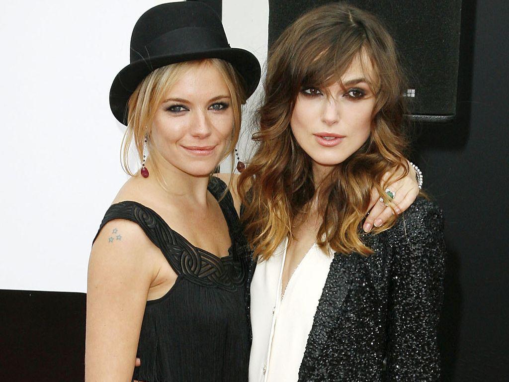 Keira Knightley und Sienna Miller