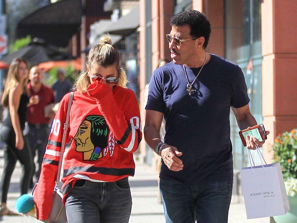 Lionel Richie mit Tochter Sofia Richie unterwegs in Los Angeles