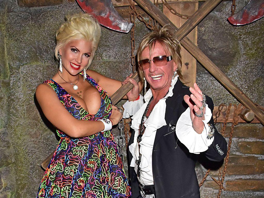 Sophia und Bert Wollersheim im Berlin Dungeon