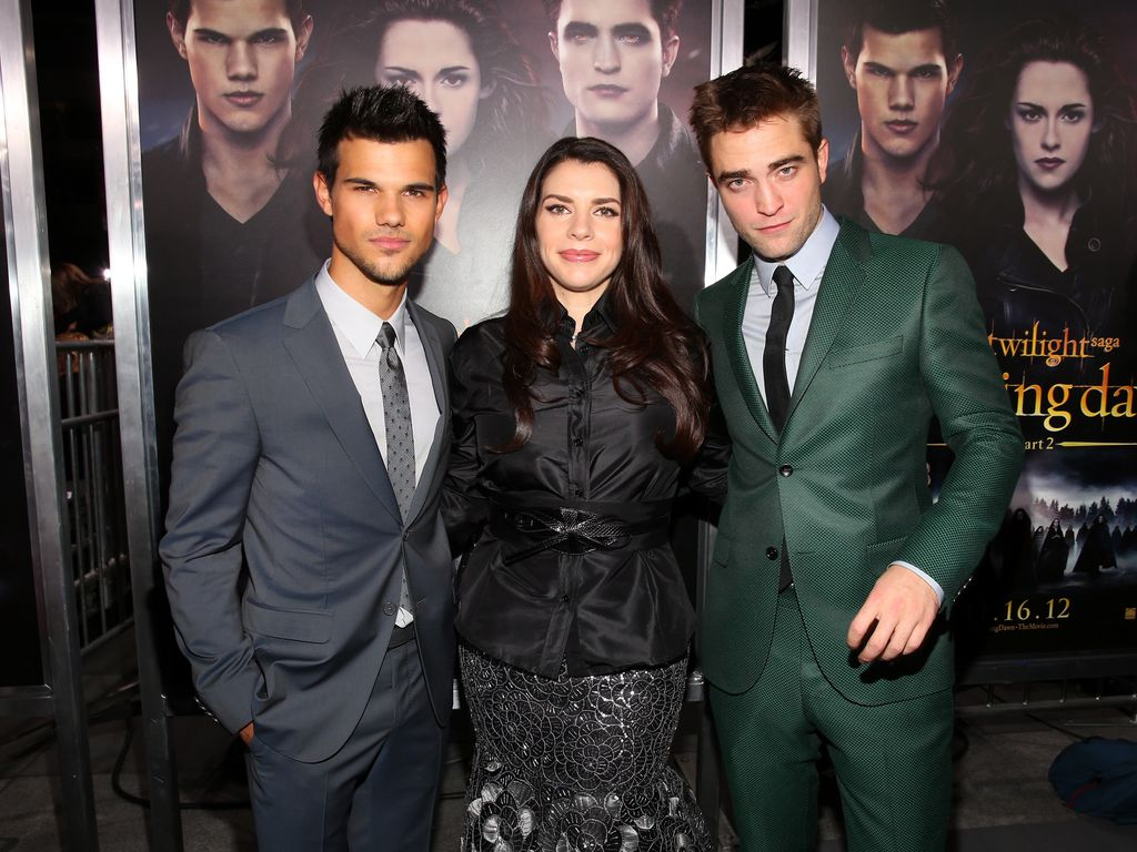Robert Pattinson und Stephenie Meyer