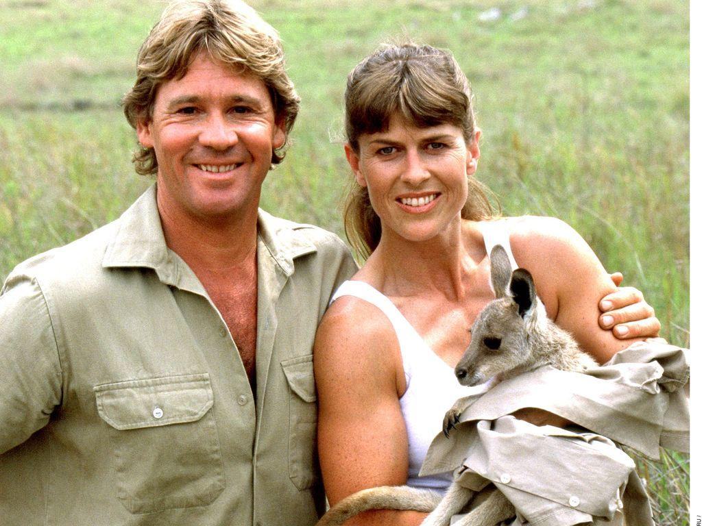 Steve und Terri Irwin im Jahr 2002