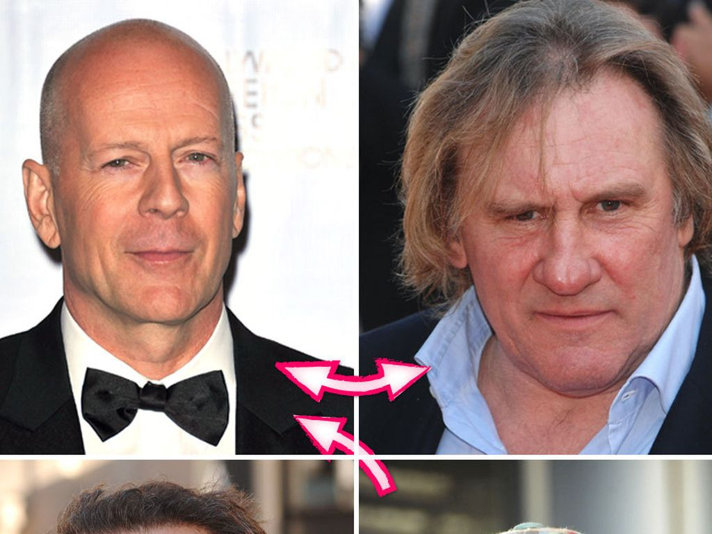 Tom Hanks, Bruce Willis, Adam Brody, Bill Murray und Gérard Depardieu