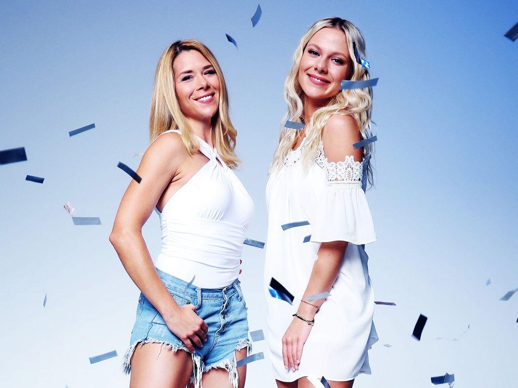 Tanja Szewczenko und Cheyenne Pahde, AWZ-Kolleginnen