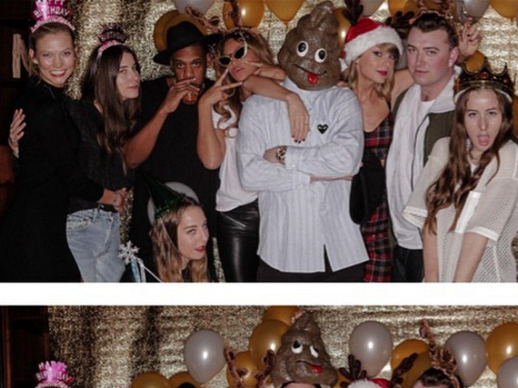 Taylor Swift, Jay-Z, Justin Timberlake, Sam Smith und Karlie Kloss