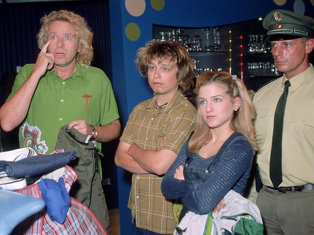 Thomas Gottschalk, Jeanette Biedermann und Tim Sander