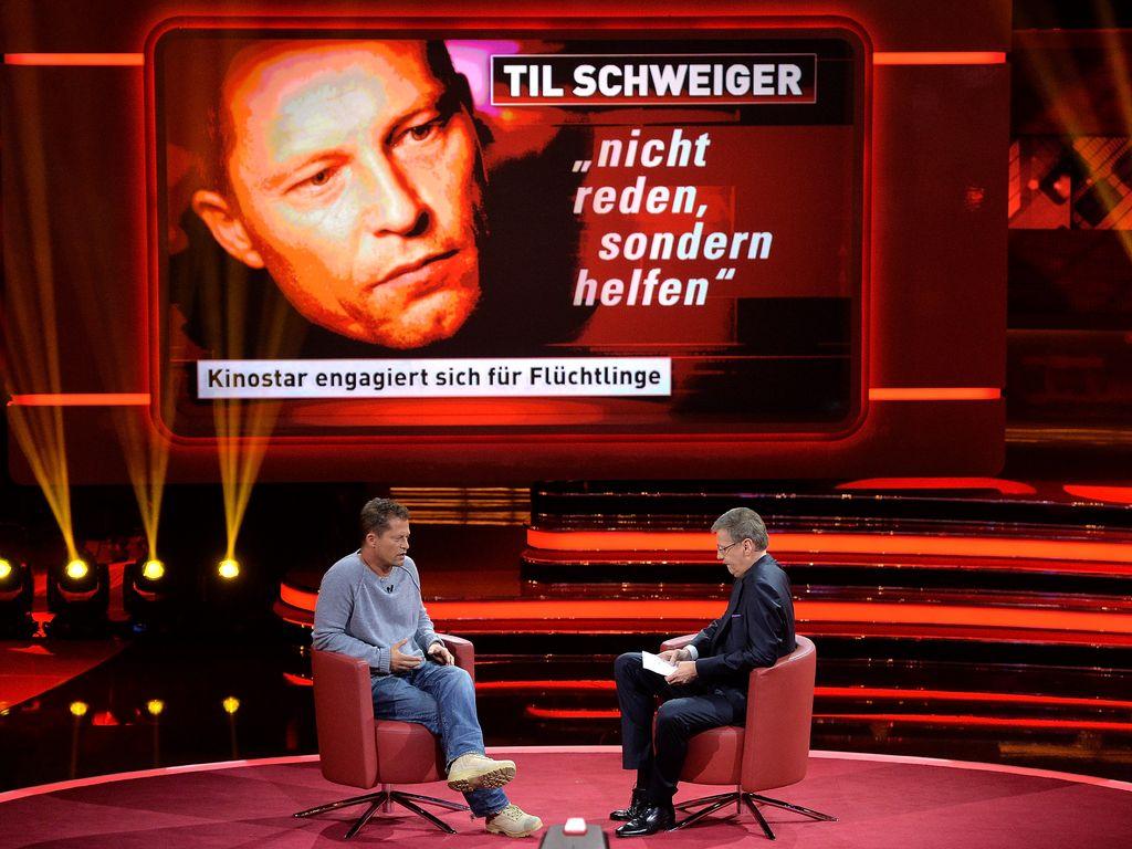"""Til Schweiger bei """"2015! Menschen, Bilder, Emotionen"""""""