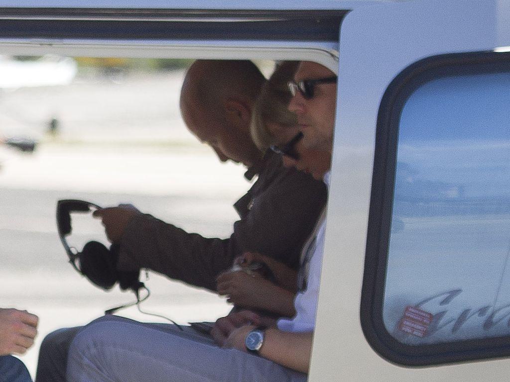 Taylor Swift und Tom Hiddleston bei ihrer Abreise aus Rom
