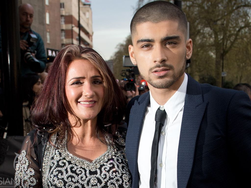 Trisha und Zayn Malik bei den Asian Awards in England 2015