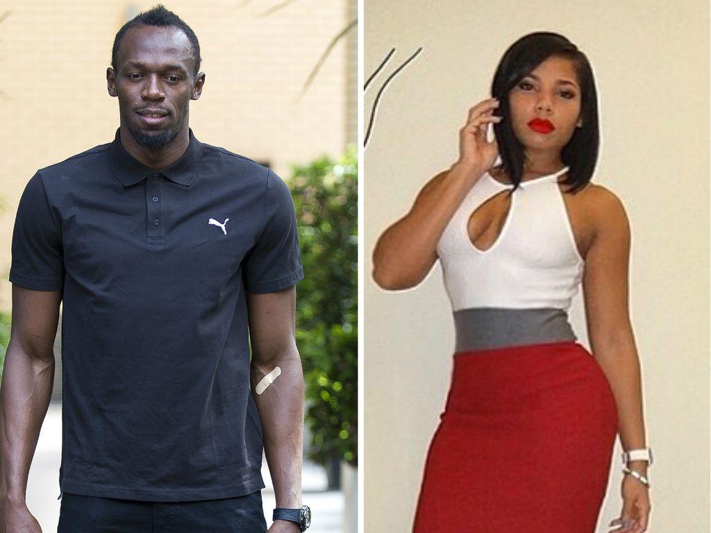 Usain Bolt und Kasi Bennett