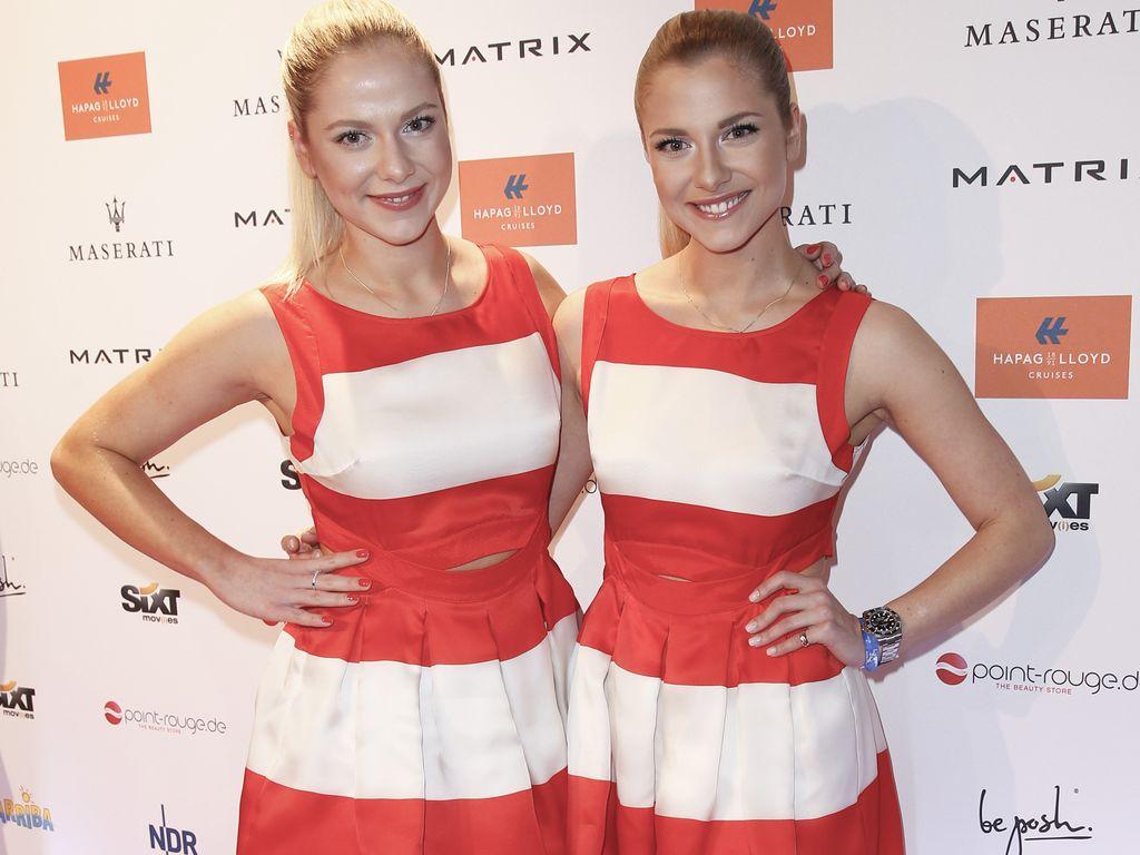 Cheyenne und Valentina Pahde bei der Movie Meets Media in Hamburg