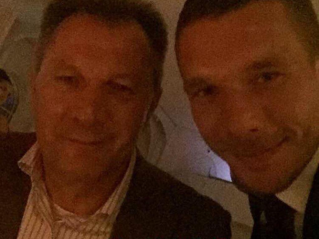 Waldemar und Lukas Podolski