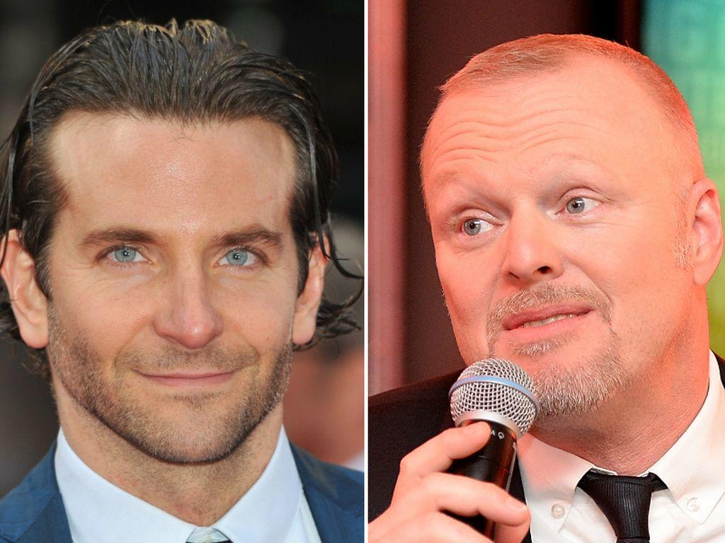 Stefan Raab und Bradley Cooper