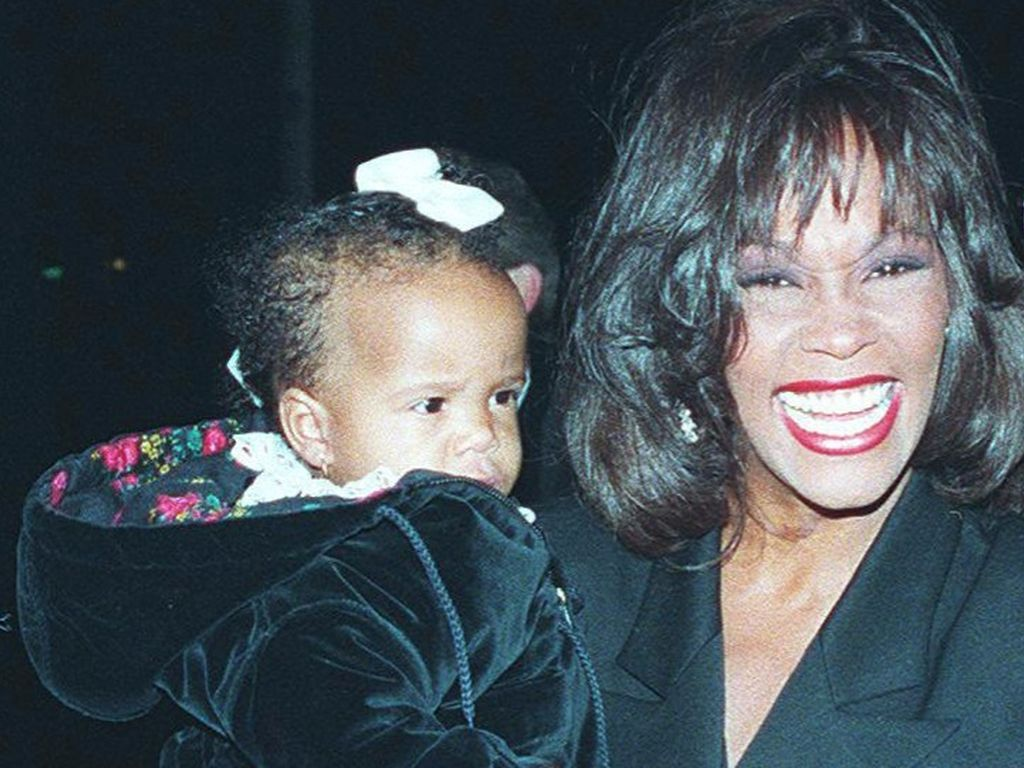Bobbi Kristina und Whitney Houston