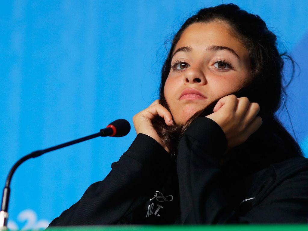 Yusra Mardini bei den Olympischen Spielen 2016