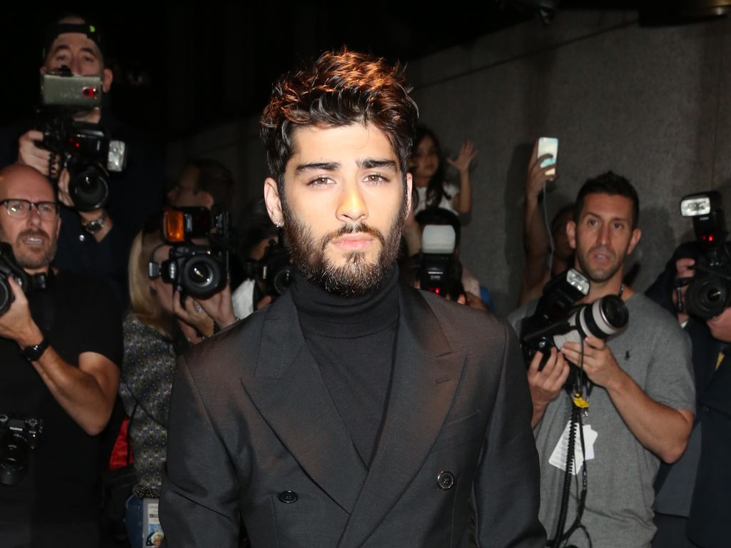Zayn Malik bei der New York Fashion Week