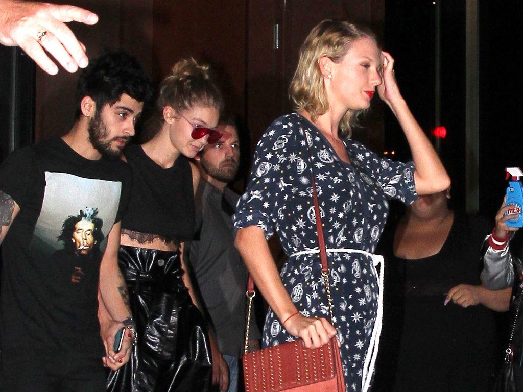 Zayn Malik, Gigi Hadid und Taylor Swift