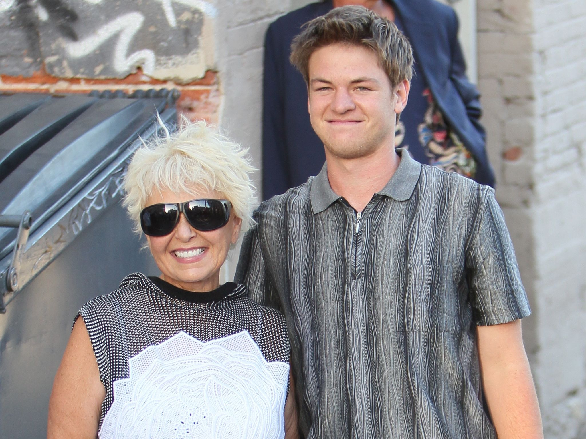 The gallery for --> Roseanne Barr Son Buck