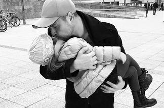 Rocco Stark mit Tochter Amelia