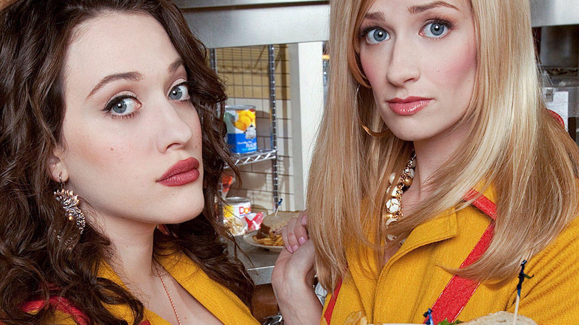 2 Broke Girls Wer Ist Euer Liebling Promiflashde