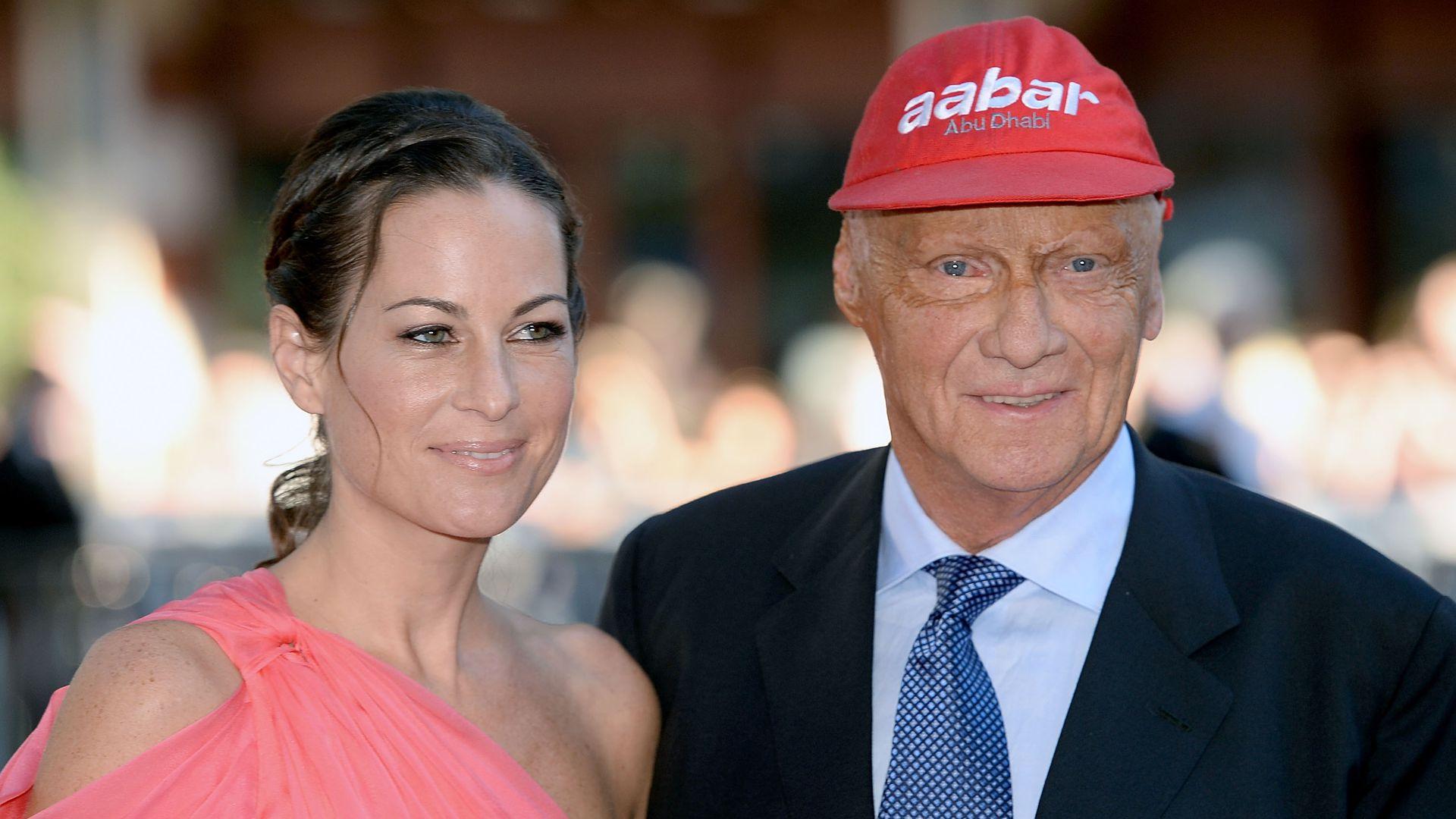 Niki Lauda Hochzeit