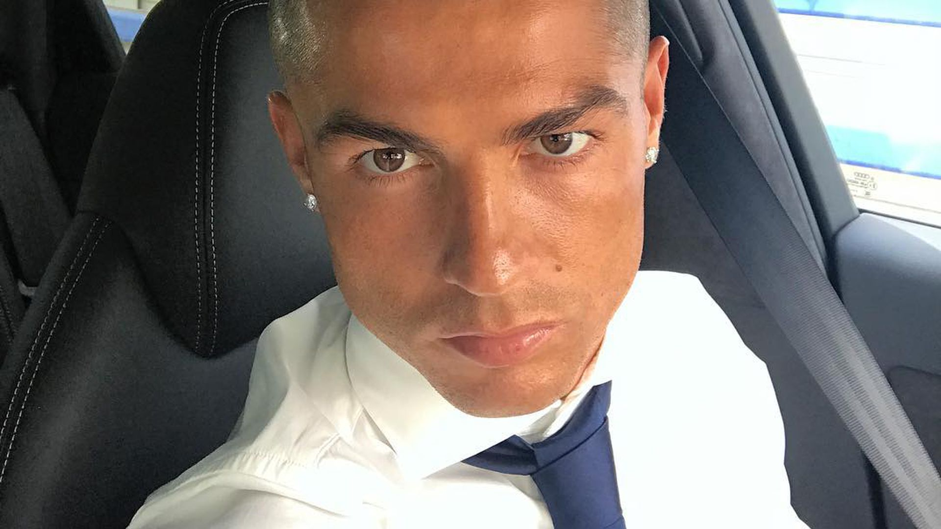 Graue Stoppel Frise Cristiano Ronaldo bist du s wirklich