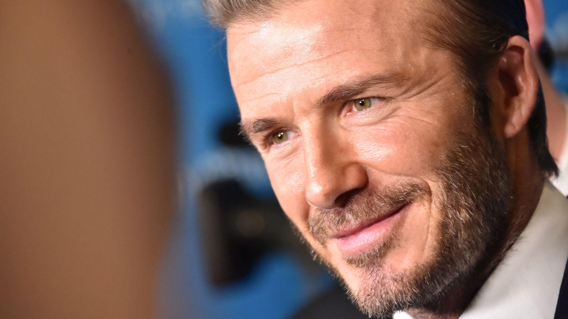 David Beckham Größe