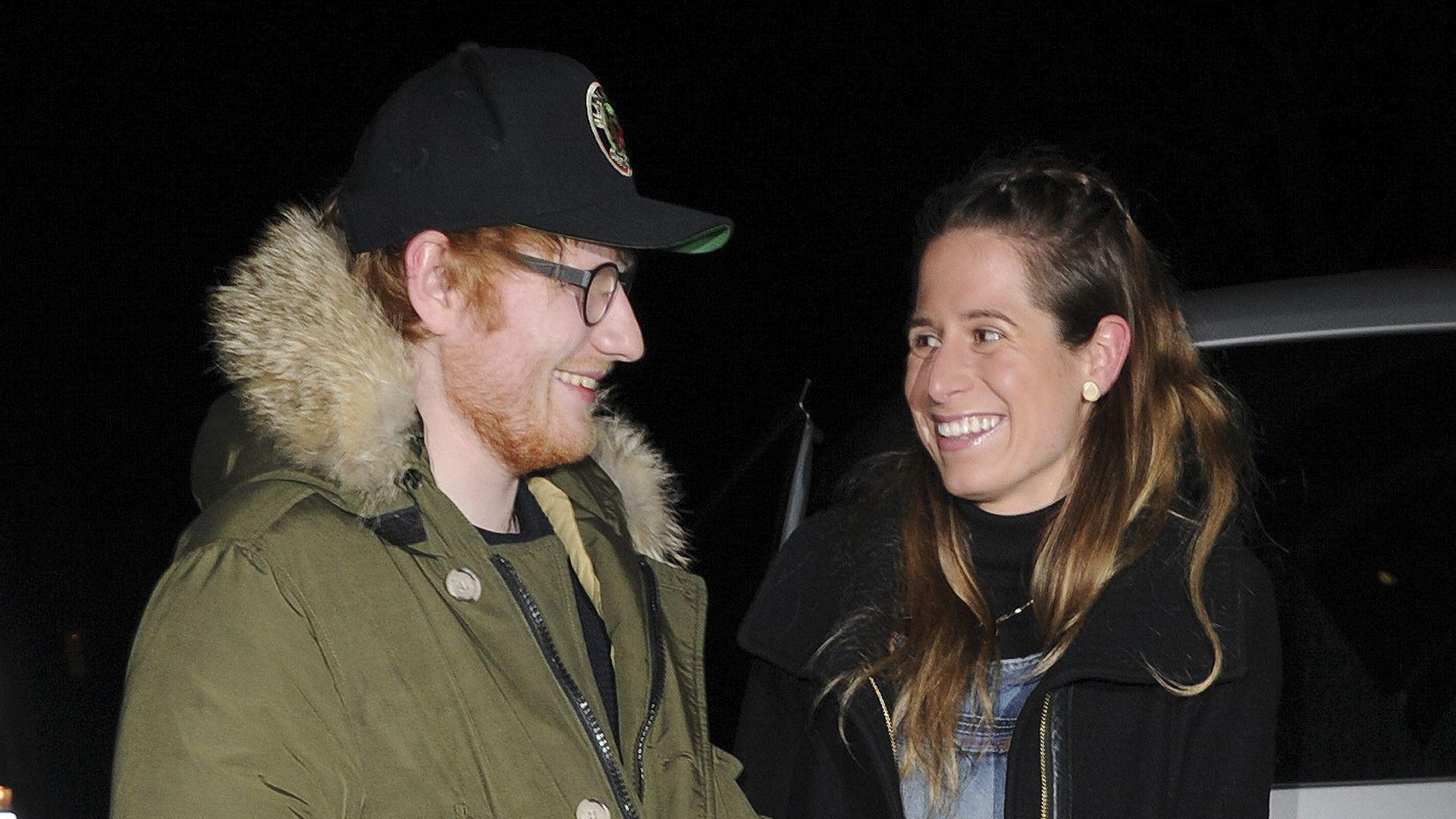 Ed Sheeran Frau