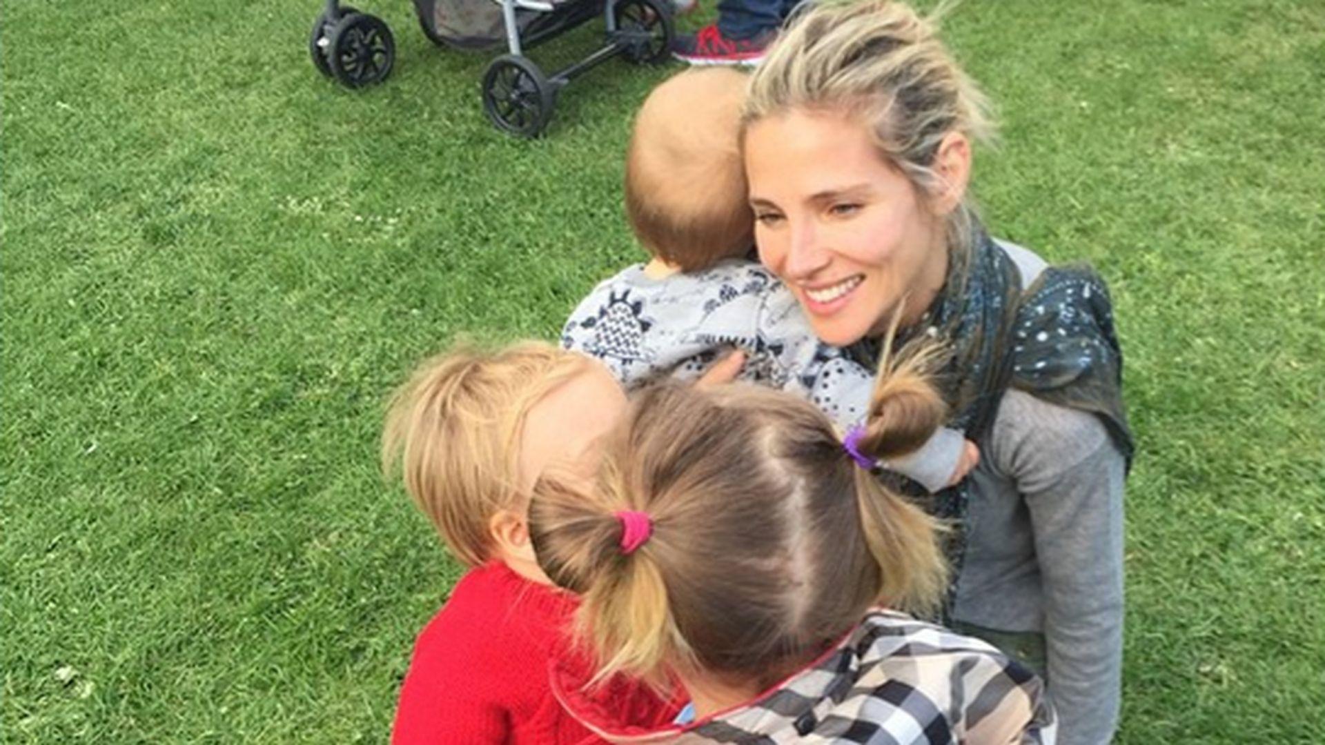 Coole Vollblut Mama Elsa Pataky hat ihre Kids voll im Griff