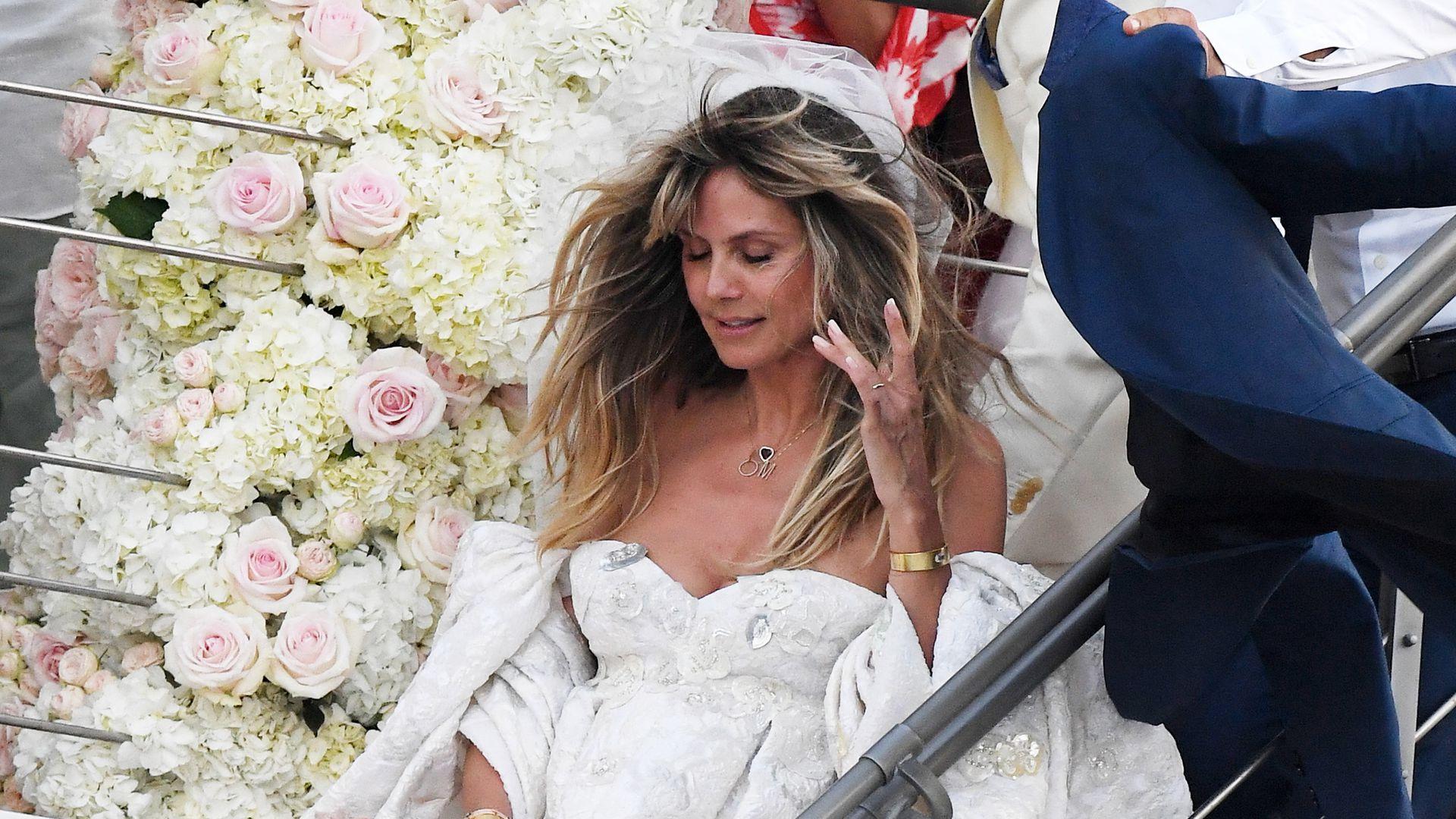 Traumhafte Wolken-Robe: Das ist Heidi Klums Brautkleid