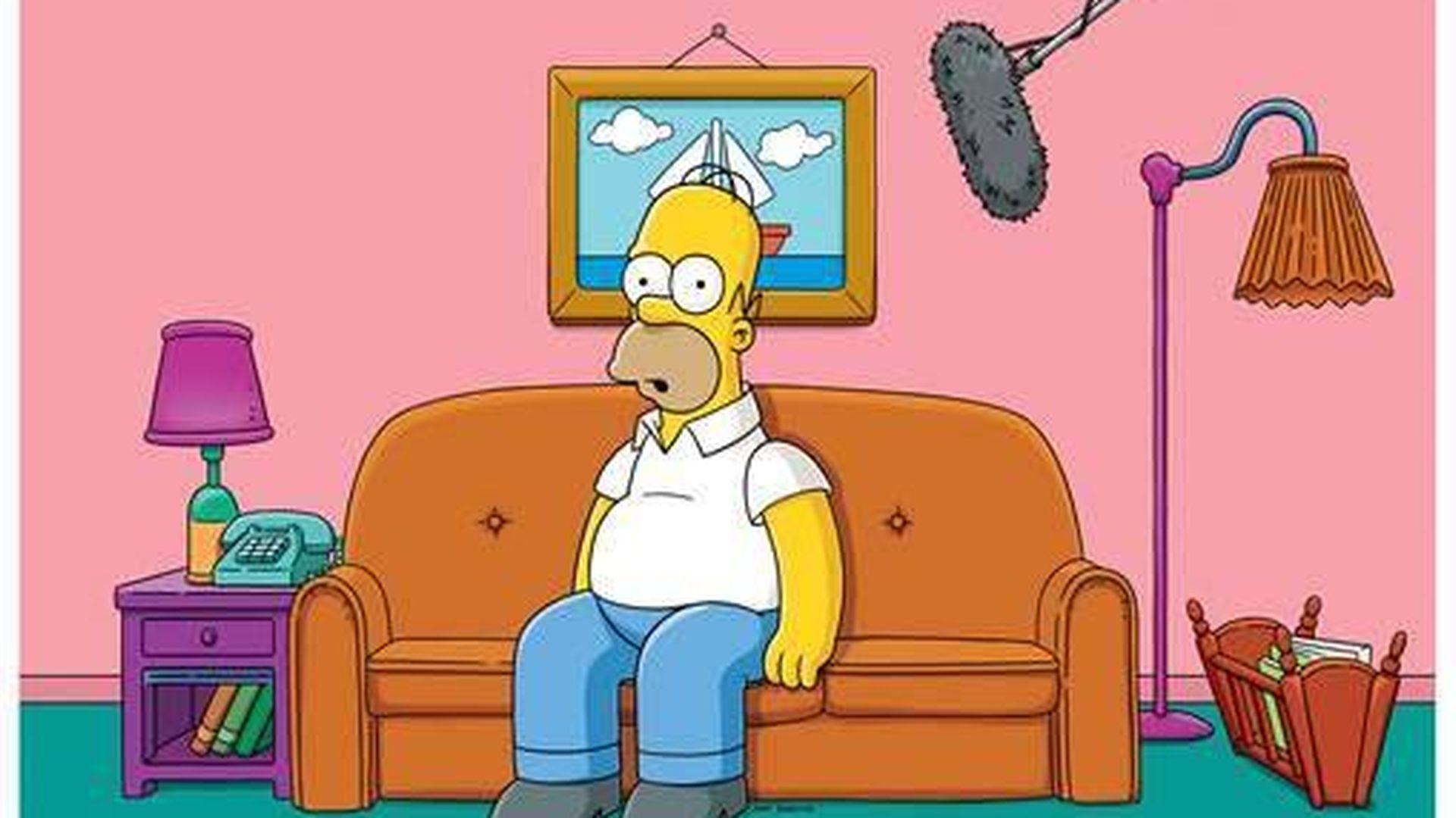 Quot Die Simpsons Quot Revolution Homer Spricht Bald Live Im Tv