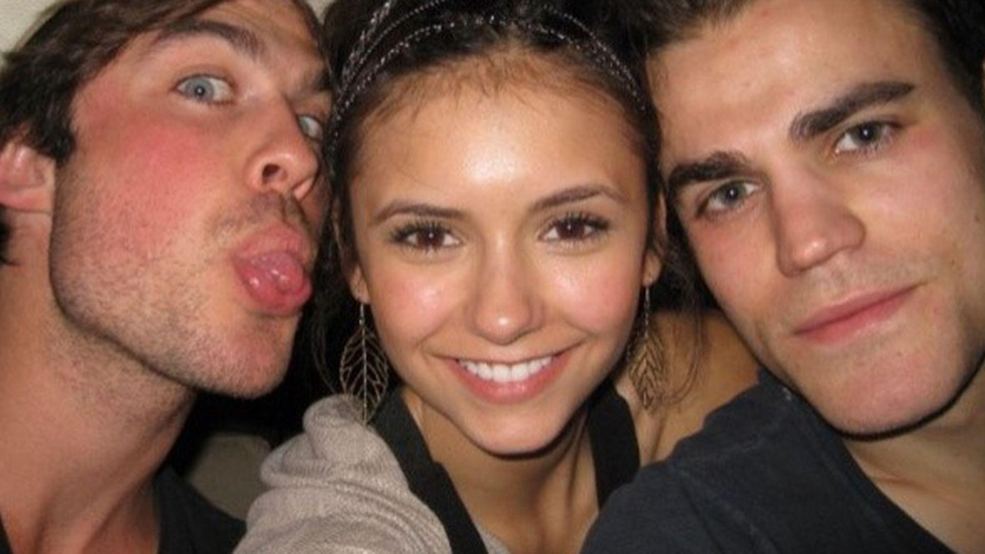 Michael trevino and nina dobrev dating 2014 5