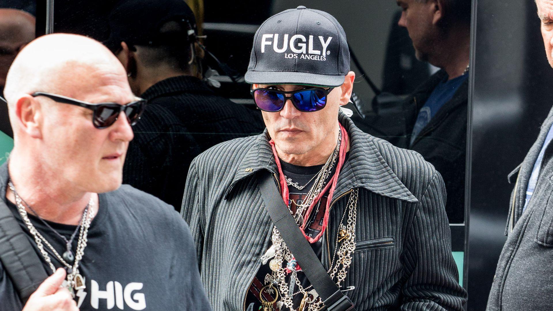 Bilder Aus Berlin Zerbricht Johnny Depp Am Tour Stress