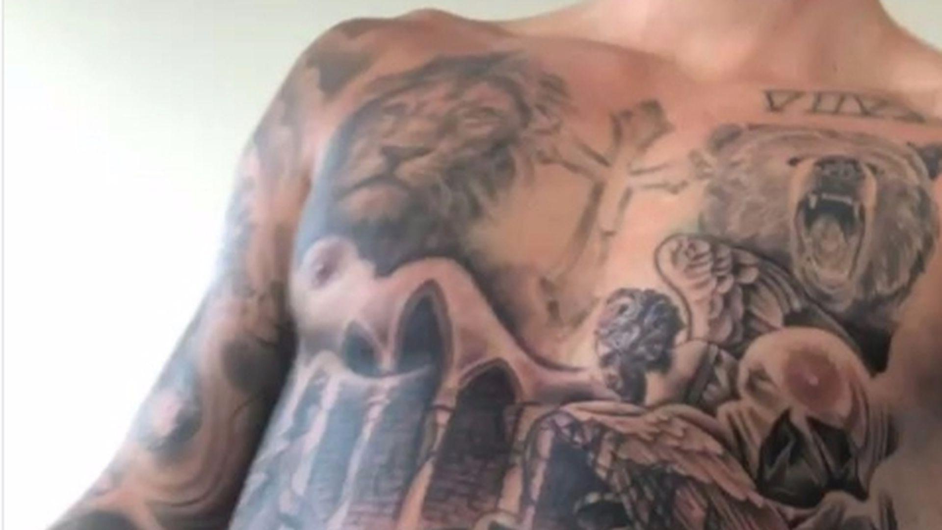 Justin Beiber Tattoos - Justin Bieber U0027s Tattoo Singer
