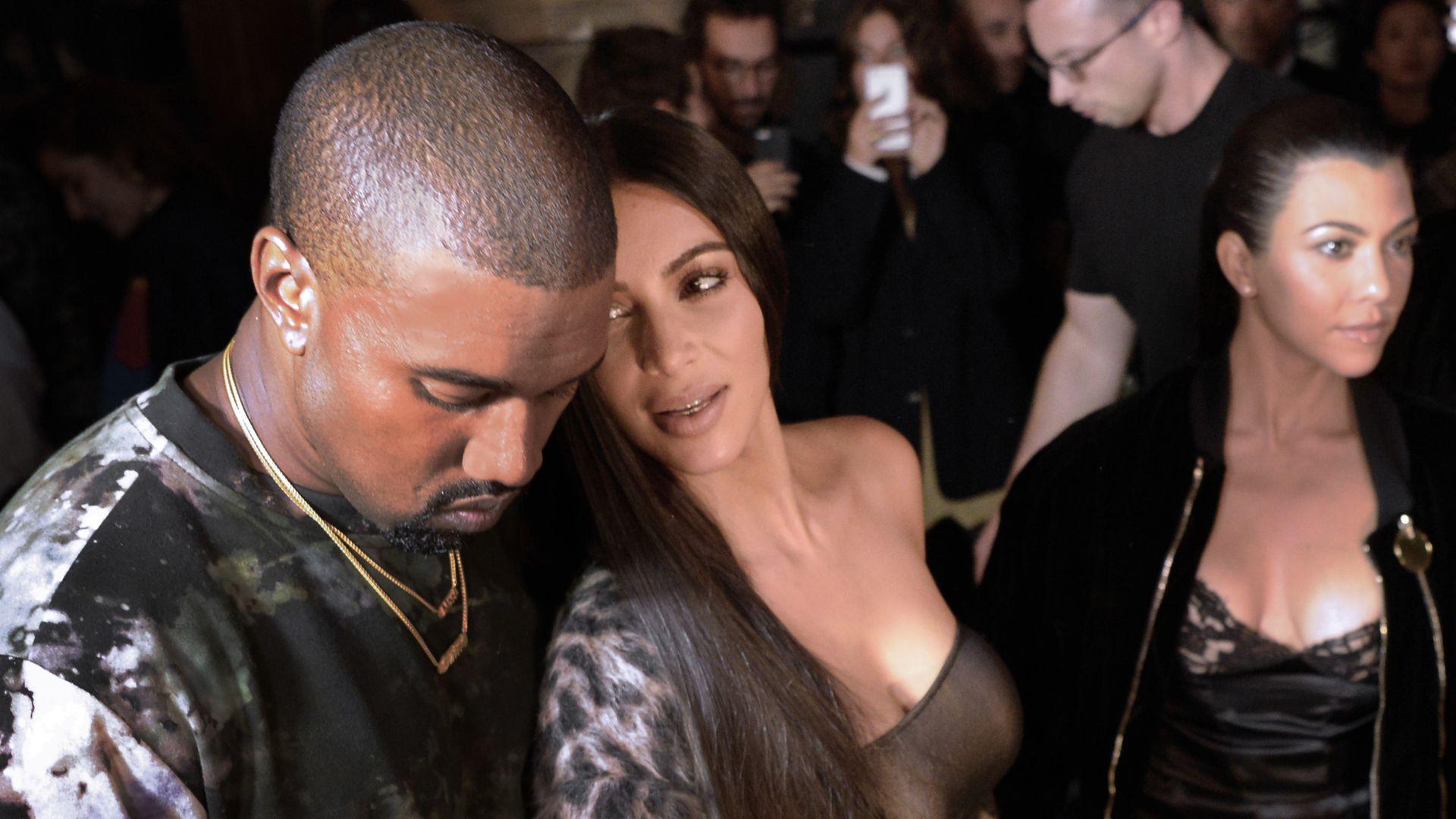 Kanyes Genesung  Hier fand seine Familie wieder zusammen