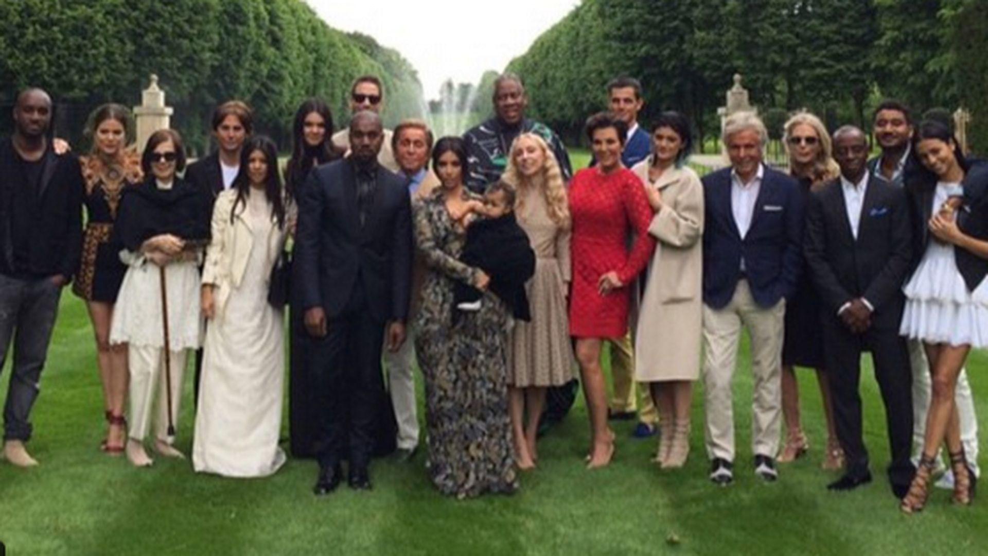Kim Kardashian Fashion Show Baby