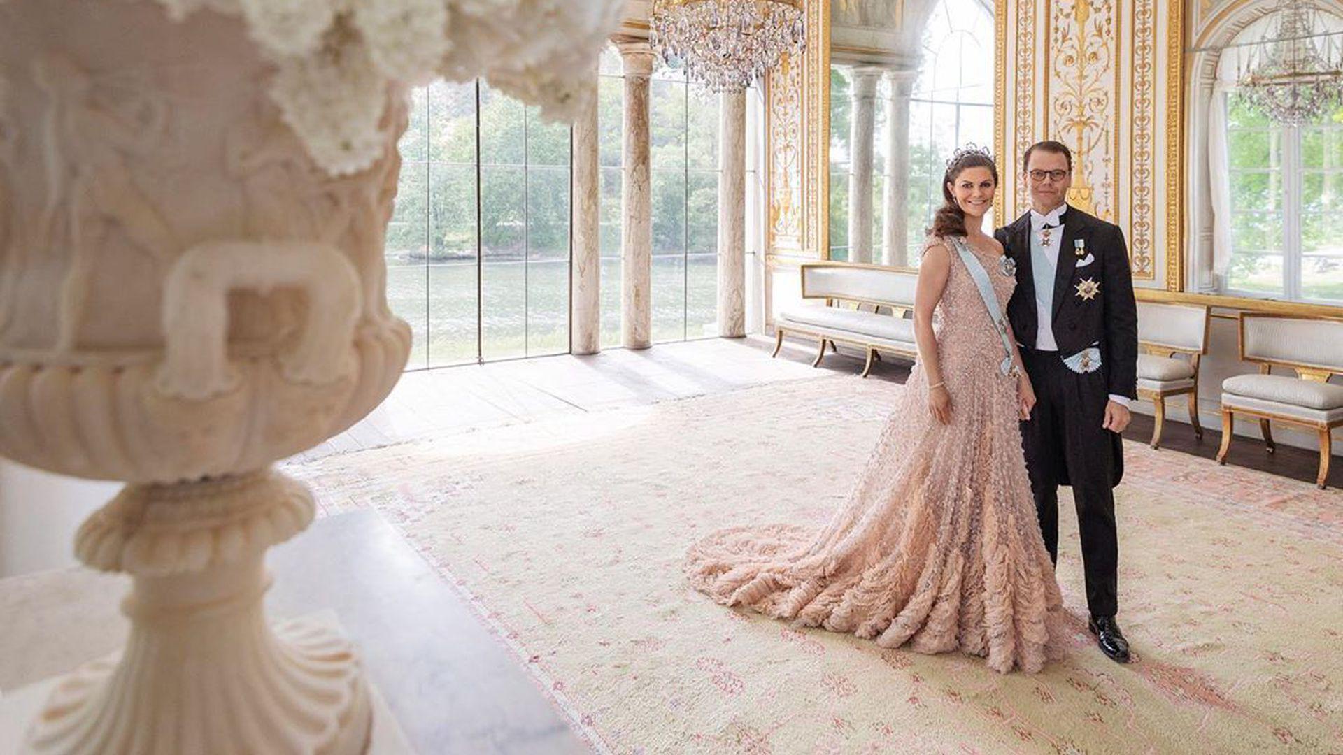 Victoria von Schweden und Daniel feiern zehnten
