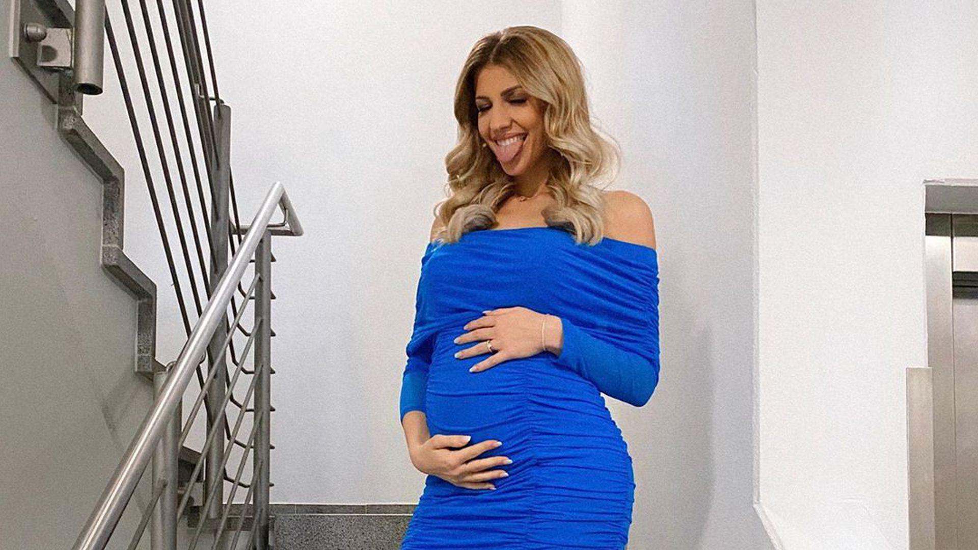 Sarah Harrison glücklich: Sie sieht endlich schwanger aus!